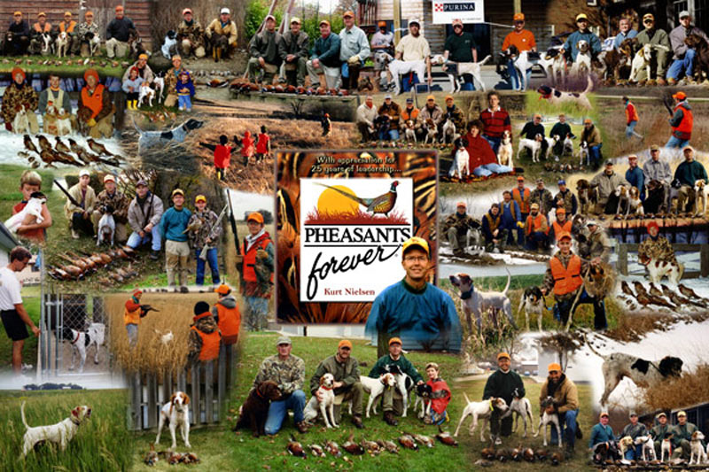 Pheasants Forever photo montage