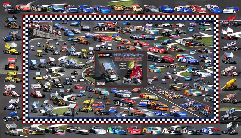 Remote controlled car racing montage