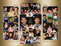 Graduation photo montage, collage