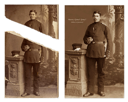 Photo restoration. photo repair