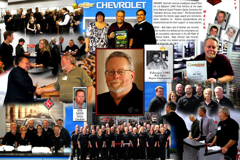 Memorial tribute photo montage