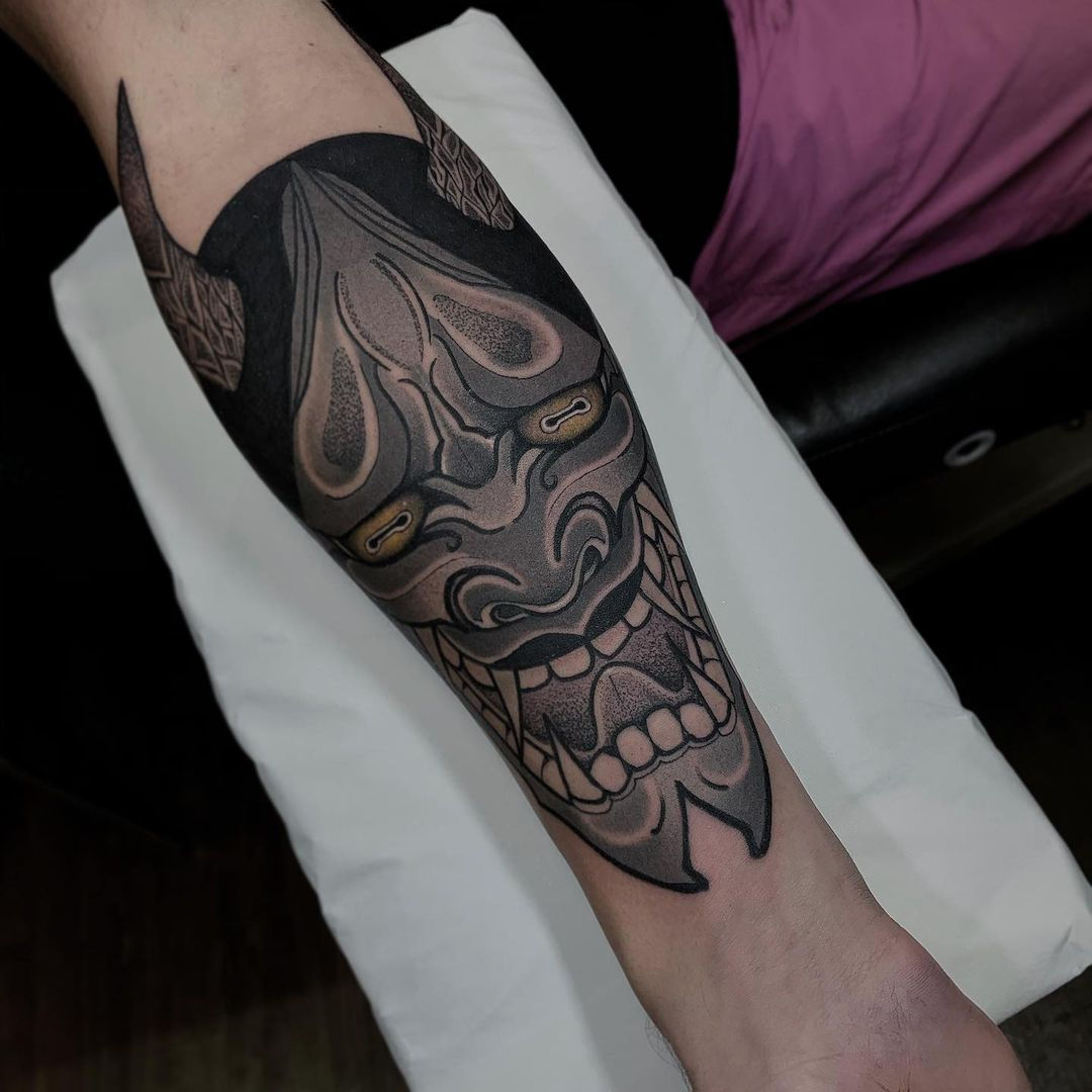 Hannya Tattoo