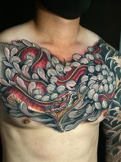 Snake and Chrysanthemum.jpg