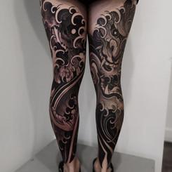 Hannya Japanese Leg Sleeve.jpg
