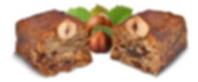 walnuts, hazelnuts, cooked grape must, raisins, orange zest, sardinia typical sweets, Mamoiada  Typical sweets