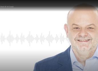 "Daniel Guéguen, associated partner at EPPA, in the radio program ""Au Bout du Jour"""