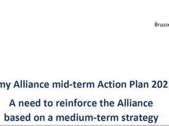 Taxonomy Alliance mid-term Action Plan 2021-2022