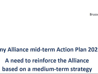 Taxonomy Alliance mid-term Action Plan 2021-2022
