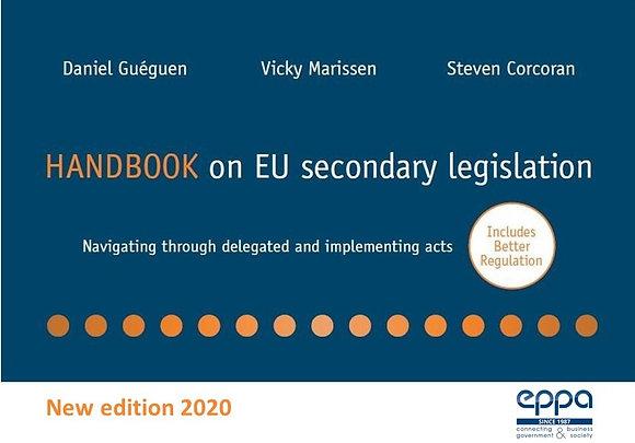 Handbook on EU Secondary Legislation – 2020 EDITION (EN)