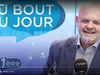 """Daniel Guéguen in the radio program """"Au Bout du Jour"""" to talk about the EU Taxonomy dossier"""