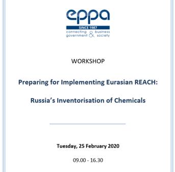 Seminar - Preparing for Implementing Eurasia REACH