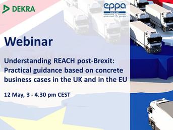 Webinar EPPA / DEKRA - Understanding REACH post-Brexit