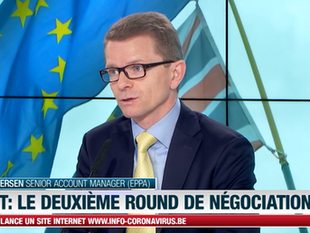 EPPA's Morten Petersen on LN24 News channel - Brexit & Future Relations