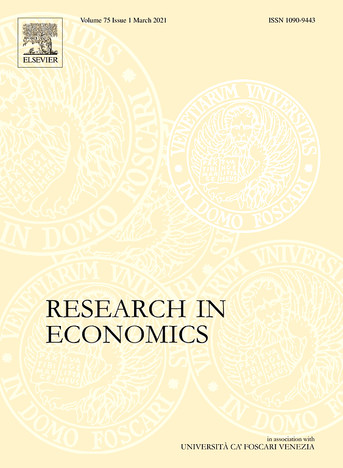 """Rudy Colacicco's article in """"Research in Economics"""""""