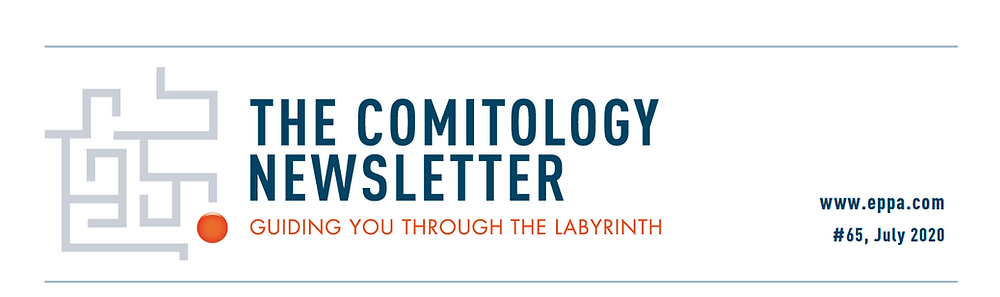 Header of the The Comitology Newsletter #63 - February 2020