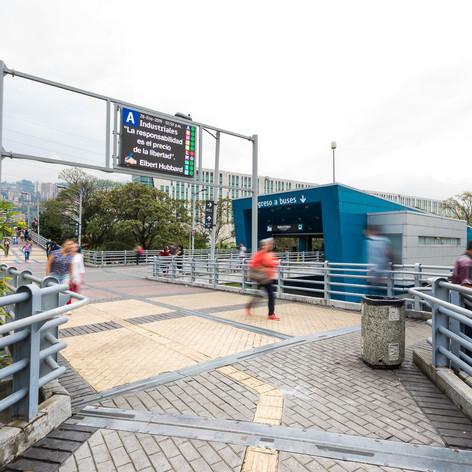 Pantallas - Metro de Medellín Griupo Unión