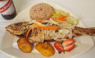 Caribbean escovitch fish