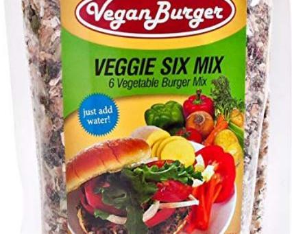 Vegan Burger (9 Patties) - Veggie Six