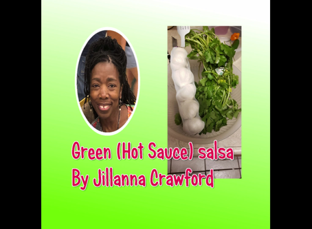 Green (Hot Sauce) Salsa  By JillannaCrawford