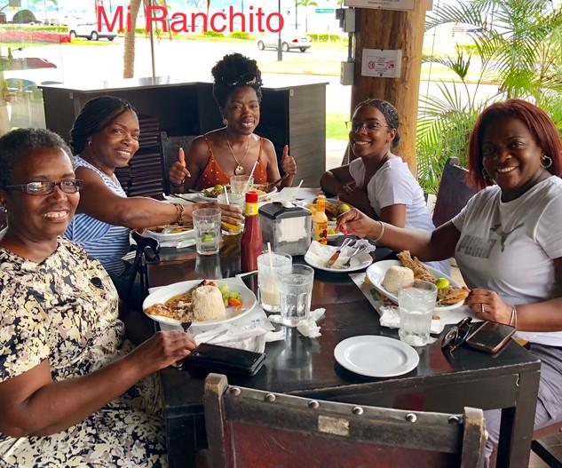 Chilling at Mi Ranchito Panama City Panama