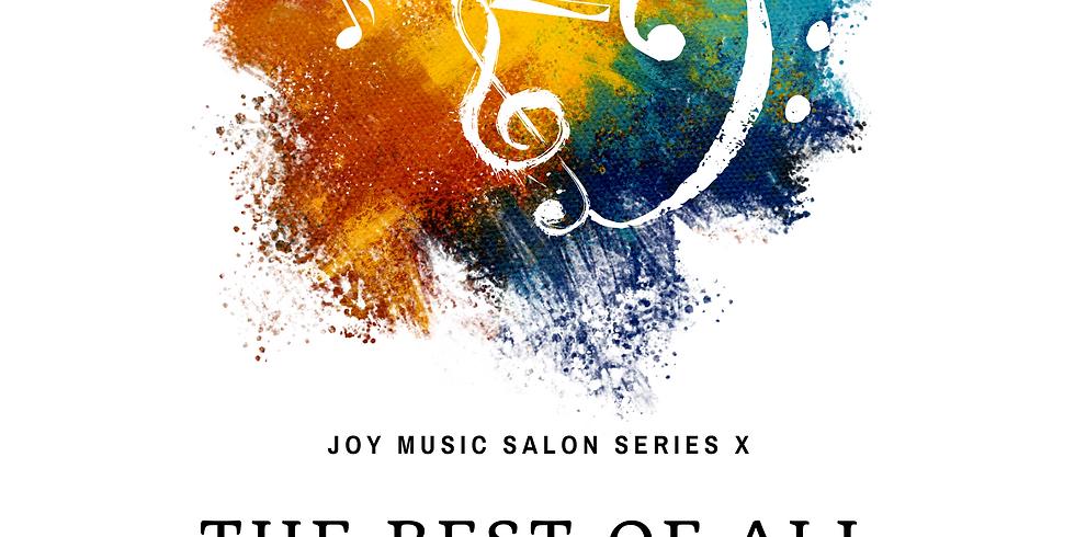 【Joy Music Salon Series 10】All of the Best Part I