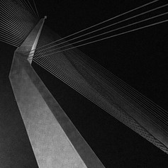 The Chords Bridge by Calatrava in Jerusa