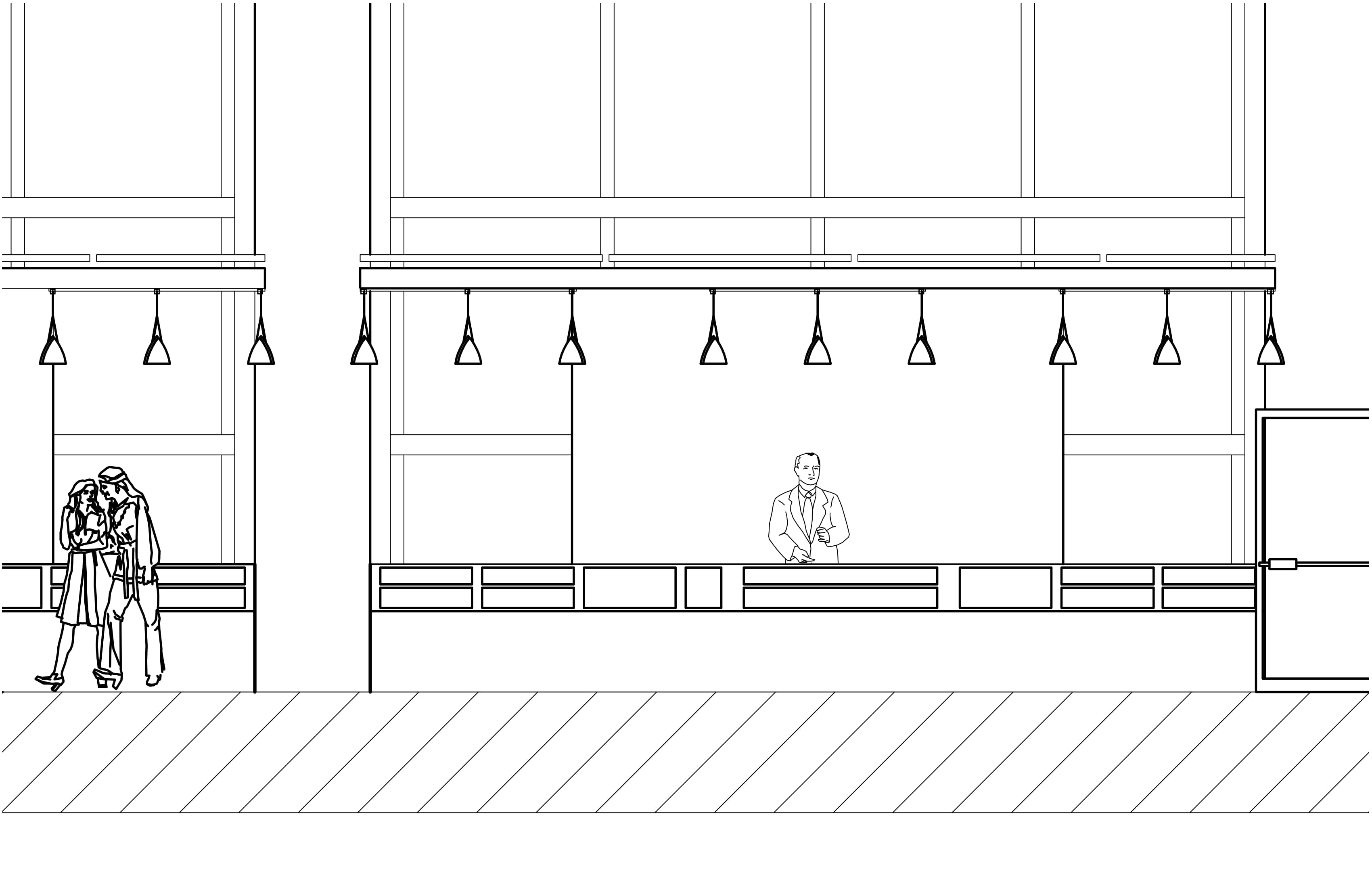 Stall Elevation