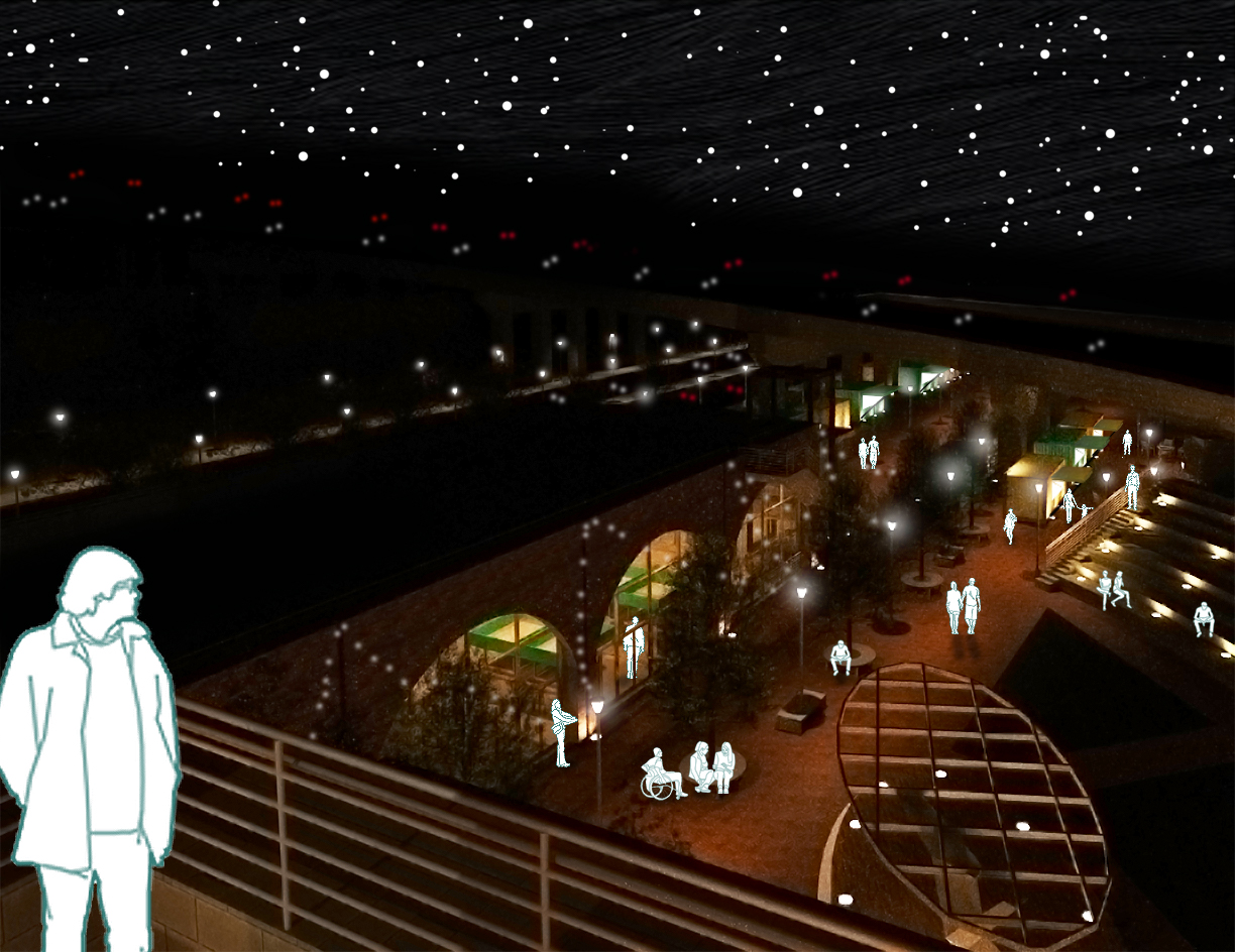 Ampitheater Night Rendering