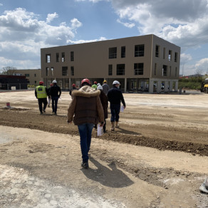 Renouveau de Poitiers Nord : Visite du chantier du projet Tripode