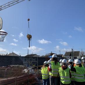 Découverte du chantier au Lycée Polyvalent Nelson Mandela à Poitiers