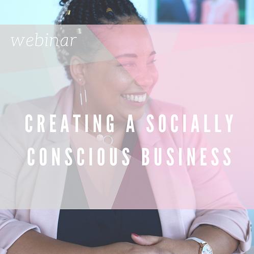 Creating a Socially Conscious Business