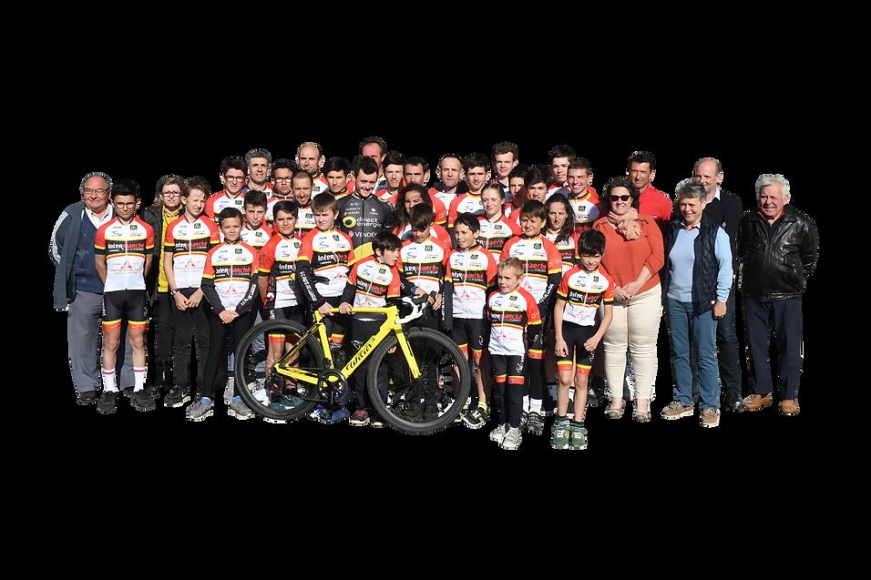 Equipe 2019 - vélo Club de Langon
