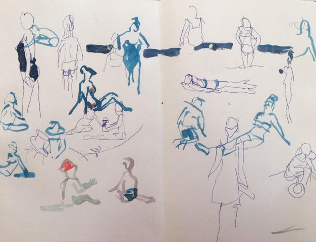 Beach figures