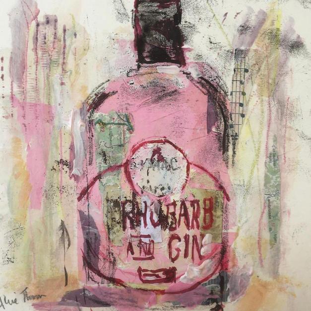 Rhubarb and gin
