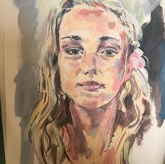 Phoebe aged 18