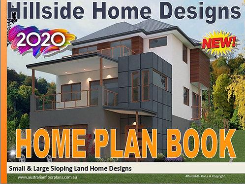 New Sloping Land and Hillside House Floor Plans Design Book