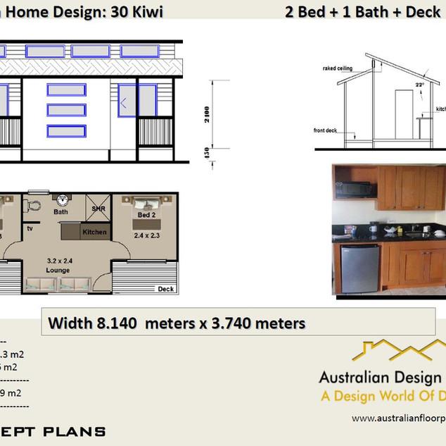 30 Kiwi Free House Plan