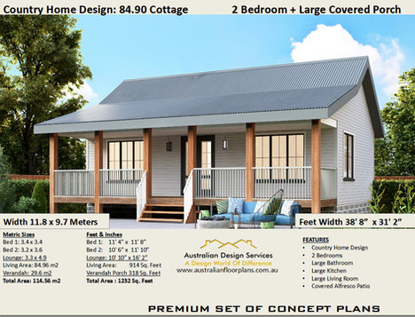 2 Bedroom County Kit Home