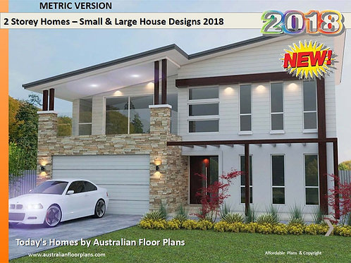 Distinctive 2 Storey Homes Designs E-book