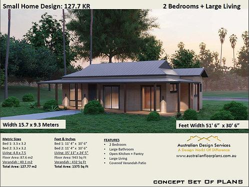 Small Home Design | 127.7KR