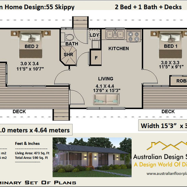 55 Skippy Free House Plan