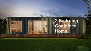 2bed-container home