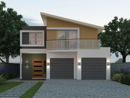 Clever Narrow Lot Home