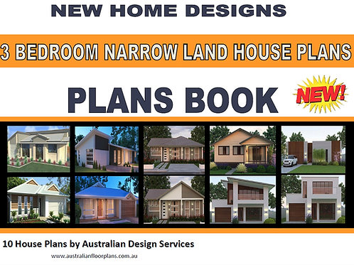 3 Bedroom Narrow Land House Plans - 10 House Plans Book