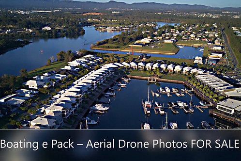 Boating Pack - Drone Photos - High-Resolution