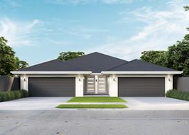 Slimline Duplex for Narrow Land