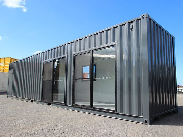 Transportable shipping container Office- 40 Foot