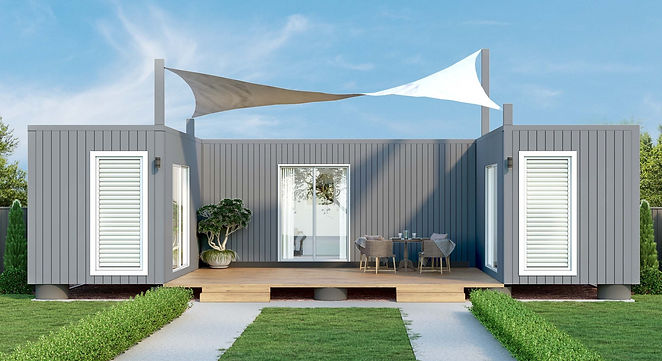 2bedroom shipping container home