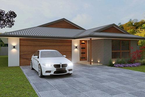 4 bedroom modern house plans    221SB House Plan