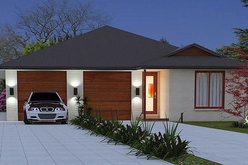 246 DU | 6 Bed + 3 Bath : 246.0 m2  | Duplex Design Preliminary House Plans